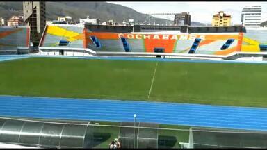 Conheça o palco do jogo do Athletico contra o Jorge Wilstermann, na Bolívia - Conheça o palco do jogo do Athletico contra o Jorge Wilstermann, na Bolívia