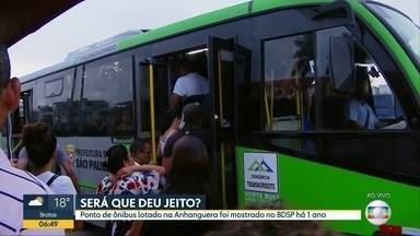 Passageiros reclamam de linhas de ônibus que passam em ponto na Anhanguera - Linha para Pinheiros chega a demorar 30 minutos para passar,