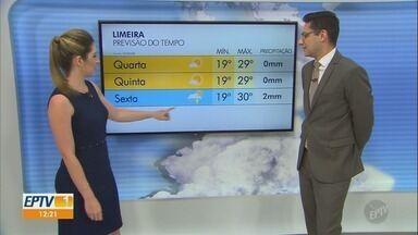 Confira a previsão do tempo para a região de Campinas nesta terça-feira (23) - Sol deve permanecer forte nas cidades da região durante esta terça-feira (23).