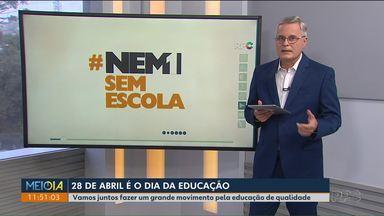 Nem 1 fora da escola - Campanha da Fundação Roberto Marinho e Rede Globo quer mobilizar a sociedade a compartilhar ações que promovam a educação nas suas comunidades.