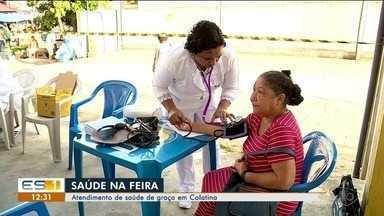 Moradores do bairro São Silvano recebem ação de saúde gratuita, em Colatina - Moradores do bairro São Silvano recebem ação de saúde gratuita, em Colatina