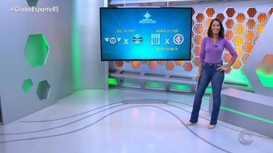 Globo Esporte RS - Bloco 1 - 23/04/19 - Assista ao vídeo.
