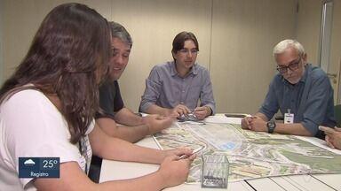 Audiência pública discute impactos do projeto Nova Ponta da Praia - Comissões discutem soluções para os impactos provocados pela travessia Santos-Guarujá e debatem legislações e temas referentes ao planejamento urbano.