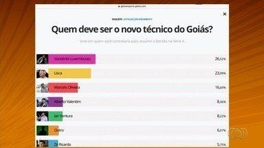 Globo Esporte quer saber: quem deve ser o novo técnico do Goiás? - Vote na enquete e escolha seu preferido para assumir o Verdão