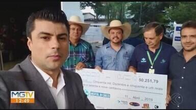 Evento beneficente arrecada mais de R$ 50 mil em prol do Hospital do Câncer em Uberlândia - Show com a dupla sertaneja Rio Negro e Solimões contou com o apoio da Rádio Cultura FM e da TV Integração.