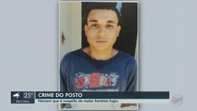 Justiça decreta prisão de suspeito de matar frentista para roubar malote e outros 3 - Vítima de Itirapina morreu no sábado (20).