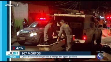 Pará registra mais de 200 mortes em ações policiais nos três primeiros meses de 2019 - Em 2018, o estado foi o segundo estado com maior número de mortos pela PM.