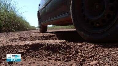 Situação da TO-030, entre Palmas e Buritirana, revolta motoristas - Situação da TO-030, entre Palmas e Buritirana, revolta motoristas