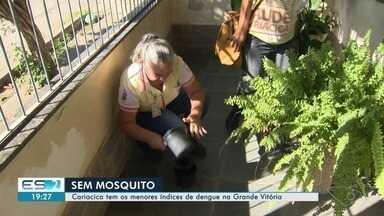 Cariacica tem os menores índices de dengue na Grande Vitória - Confira o trabalho que tem sido feito na cidade.
