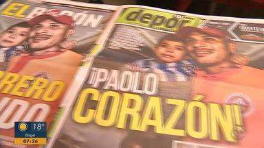 Paolo Guerrero, Inter e peruanos tem uma história de capítulos antigos - Confira o quadro 'Baú do Esporte' desta quarta-feira (24).