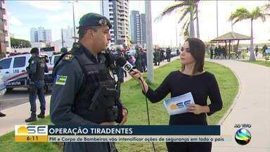 PM de Sergipe participa da Operação Tiradentes - PM de Sergipe participa da Operação Tiradentes.