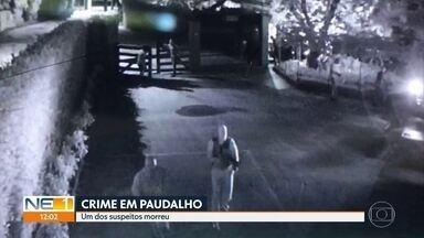 Morre um dos suspeitos do assalto que vitimou dono de parque aquático em Aldeia - Testemunhas relataram como foi a dinâmica do crime