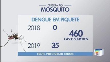 Piquete tem 35 casos de dengue - Cidade tem 460 casos suspeitos da doença.