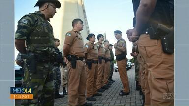 Polícia Militar lança Operação Tiradentes - Objetivo é aumentar número de ações preventivas.