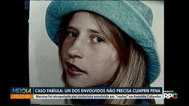 Envolvido em 'racha' que acabou com morte de jovem não vai cumprir pena - A menina, de 12 anos, foi atropelada na Avenida Colombo em 2003.
