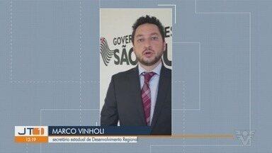 Secretário de Governo de São Vicente se posiciona sobre obras paralisadas na cidade - De acordo com ele, obras foram paralisadas porque Governo do Estado cancelou convênios e que tudo estava previsto no orçamento do Estado.