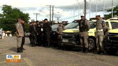Operação Tiradentes é realizada em Maceió - Ação policial começou nesta quarta-feira (24).