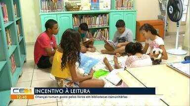 Crianças são maioria em bibliotecas no Cariri - saiba mais em g1.com.br/ce