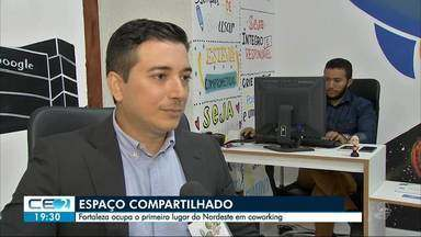 Fortaleza ocupa primeiro lugar no Nordeste em coworking - Outras informações no g1.com.br/ce