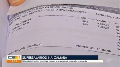 Ministério Público investiga super salários Câmara de Juazeiro do Norte - saiba mais em g1.com.br/ce
