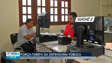 Defensoria Pública faz mutirão de atendimento - saiba mais em g1.com.br/ce