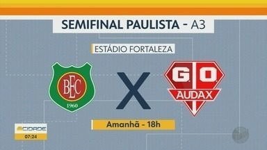 Jogos de futebol movimentam o final de semana na região de Ribeirão Preto - A bola vai rolar pela Série A3 e quarta divisão do Campeonato Paulista.