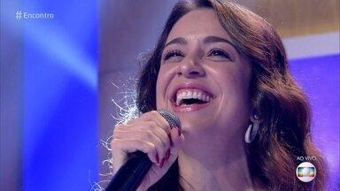 Roberta Sá abre o Encontro desta sexta-feira - Ela canta 'Giro'