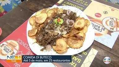 Receita com costela e batata doce faz sucesso no Comida Di Buteco - Festival segue até 5 de maio, em 25 restaurantes do Recife, de Olinda e de Jaboatão.