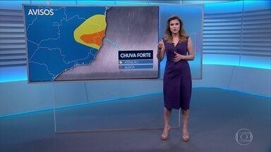 Veja o que provocou a mudança brusca no tempo que causou o vendaval - Eliana Marques também mostra a previsão do tempo nesta terça-feira (30 de abril) e onde as temperaturas permanecem elevadas.