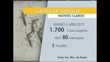 Crianças exigem mais cuidados na prevenção e tratamento da dengue - Em Montes Claros, foram registrados mais de mil casos.
