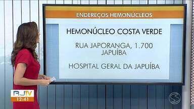 Hemonúcleos do Sul do Rio participam de corrente de doação da série 'Sob Pressão' - Ação marca o lançamento de mais uma temporada do seriado, que retrata a difícil realidade da saúde pública no Brasil.