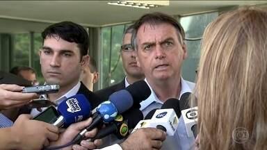 Bolsonaro diz que não houve derrota no movimento que Guaidó promoveu na Venezuela - O presidente Jair Bolsonaro se reuniu, nesta quarta, com ministros e comandantes das Forças Armadas para discutir o agravamento da crise na Venezuela.