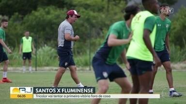 Flu e Botafogo tentam primeira vitória - Tricolor encara o Santos na Vila Belmiro e o Botafogo recebe o Bahia no Estádio Nilton Santos pelo Brasileirão.