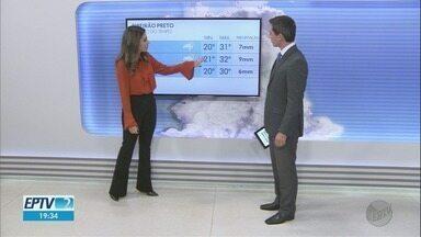 Veja a previsão do tempo para esta sexta-feira na região de Ribeirão Preto - Expectativa é de chuva para toda a região.