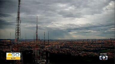 Confira a previsão do tempo para esta sexta-feira (3) em Goiás - Dia deve ser de temperatura amena.