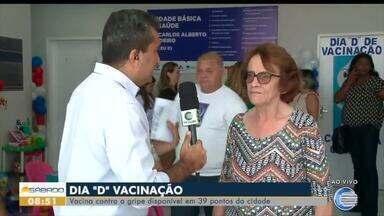 Vacina contra gripe está disponível em 39 pontos da capital - Vacina contra gripe está disponível em 39 pontos da capital