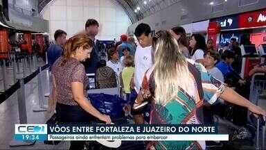 Avianca: passageiros ainda têm dificuldade para viajar - Saiba mais em g1.com.br/ce