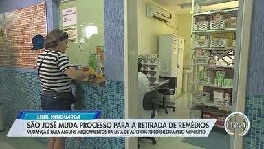 Processo de retirada de medicamentos passa por mudança em São José - Nem todos os remédios entram nesse processo.