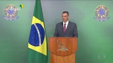 Bolsonaro deve ir aos EUA para receber homenagem, diz porta-voz - Presidente havia desistido depois que museu em NY se recusou a sediar o evento e o prefeito da cidade fez ataques. Mas Planalto sinalizou que Bolsonaro pode reconsiderar.