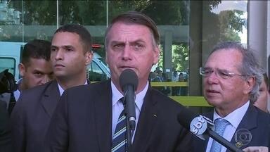 Bolsonaro faz defesa enfática da reforma da Previdência: 'País não tem alternativa' - Presidente da comissão especial da Câmara quer que o ministro da Economia, Paulo Guedes, seja o primeiro a ser ouvido pelos parlamentares.