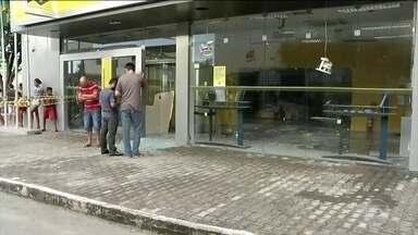 Quadrilhas que explodem e saqueiam bancos no Nordeste voltam a agir - Por causa de assaltos como esses, a população de várias cidades é obrigada a viver sem os serviços bancários.