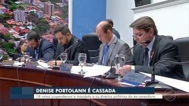 Vereadora tem mandato cassado - Denize Portolann perde o mandato de vereadora em Dourados.