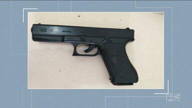 Policial suspeito de vender armar é preso no Maranhão - Policial reformado do estado Pará foi preso no município de Imperatriz por ser suspeito de vender armas de fogo.
