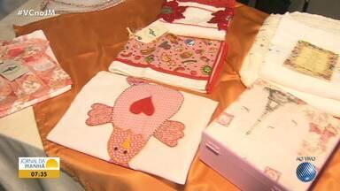 GACC oferece curso de artesanato gratuito para acompanhantes de pacientes - As mães participam de oficinas enquanto acompanham os pacientes.