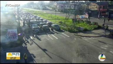 Veja os pontos de congestionamento no trânsito de Belém, no quadro 'Radar' - Veja os pontos de congestionamento no trânsito de Belém, no quadro 'Radar'