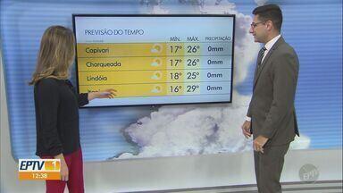 Campinas tem máxima de 26° C nesta quinta-feira (9) - Confira a previsão do tempo para Campinas (SP) e região.