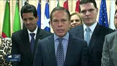 Governo do Estado quer Fórmula 1 por mais 10 anos em SP - João Doria rebateu a afirmação do presidente Jair Bolsonaro que disse ontem que a categoria seria disputada no Rio de Janeiro, em 2020