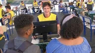 Porto Feliz recebe Mutirão do MEI nesta quinta-feira - Evento acontece na Praça da Matriz, até as 16h. Ação é uma iniciativa da TV TEM, do Sebrae e da prefeitura da cidade.