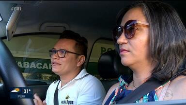 Instrutores particulares de direção são procurados por pessoas que tem medo de dirigir - Várias pessoas já tem a Carteira de Habilitação mas sentem medo de dirigir.