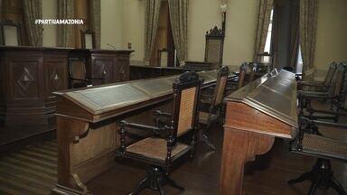 Parte 2: No Palácio da Justiça, apresentadora visita exposição sobre crimes - Parte 2: No Palácio da Justiça, apresentadora visita exposição sobre crimes